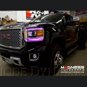 GMC Sierra Multicolor DRL LED Boards - Multicolor and White