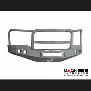 GMC Sierra 1500 Stealth Front Non-Winch Bumper Lonestar Guard - Raw Steel Road Armor - (2016-2017)