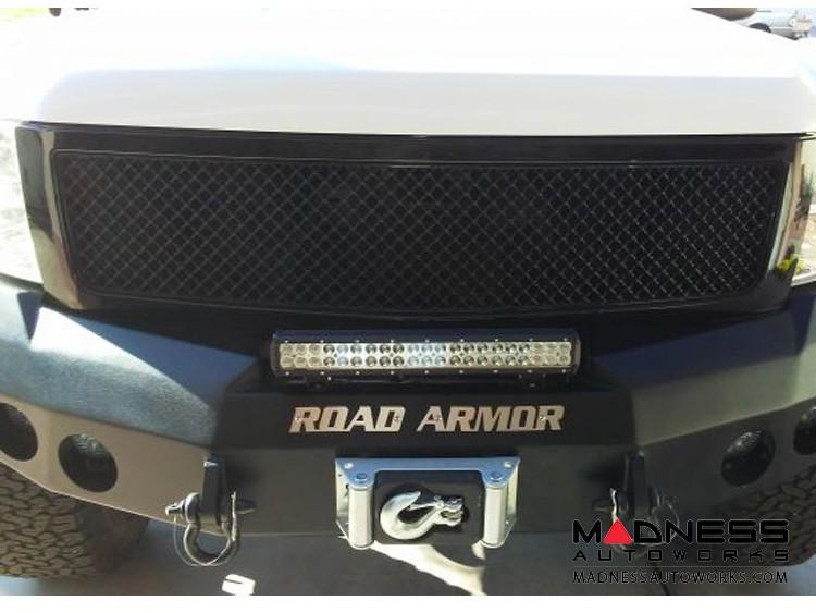 GMC Sierra 1500 Stealth Front Winch Bumper - Smittybilt XRC - Texture Black WARN M12000 - (2008-2013)