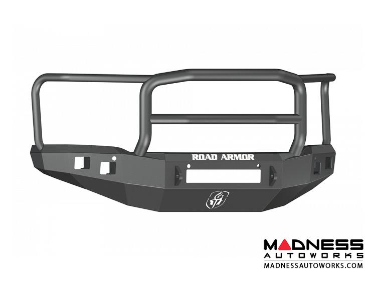 GMC Sierra 1500 Stealth Front Non-Winch Bumper Lonestar Guard - Texture Black - (2014-2015)