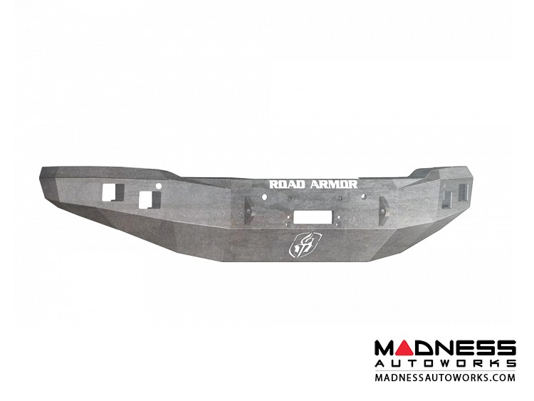GMC Sierra 1500 Stealth Front Winch Bumper - Smittybilt XRC - Raw Steel WARN M12000 - (2014-2015)