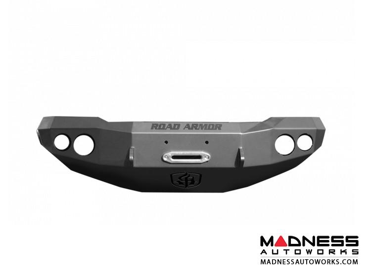 GMC Sierra 3500 Stealth Front Winch Bumper - Smittybilt XRC - Texture Black WARN M12000