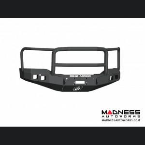 GMC Sierra 1500 Stealth Front Winch Bumper Lonestar Guard - Smittybilt XRC - Texture Black WARN M12000 - (2016-2017)