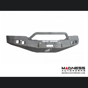 GMC Sierra 1500 Stealth Front Winch Bumper Pre-Runner Guard - Raw Steel Road Armor - (2016-2017)