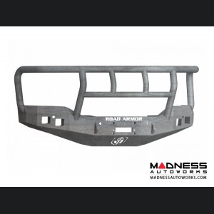 GMC Sierra 1500 Stealth Front Winch Bumper Titan II Guard - Raw Steel Road Armor - (2016-2017)