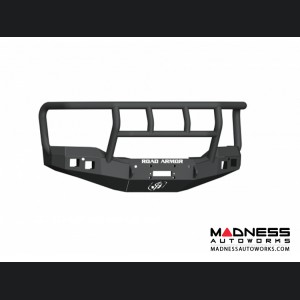 GMC Sierra 1500 Stealth Front Winch Bumper Titan II Guard - Satin Black Road Armor - (2016-2017)