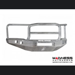 GMC Sierra 1500 Stealth Front Non-Winch Bumper Lonestar Guard - Raw Steel