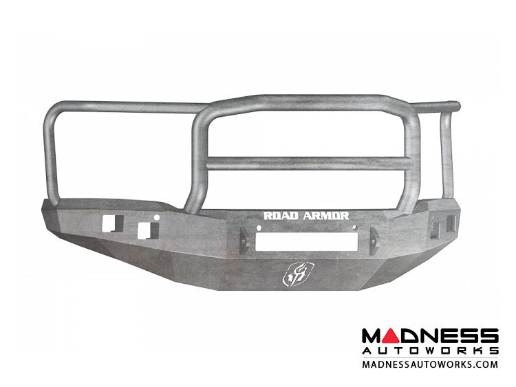 GMC Sierra 1500 Stealth Front Non-Winch Bumper Lonestar Guard - Raw Steel