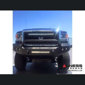 GMC Sierra 1500 Stealth Front Non-Winch Bumper Pre-Runner Guard - Raw Steel