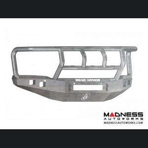 GMC Sierra 1500 Stealth Front Non-Winch Bumper Titan II Guard - Raw Steel