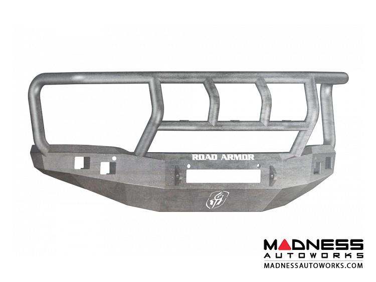 GMC Sierra 1500 Stealth Front Non-Winch Bumper Titan II Guard - Raw Steel