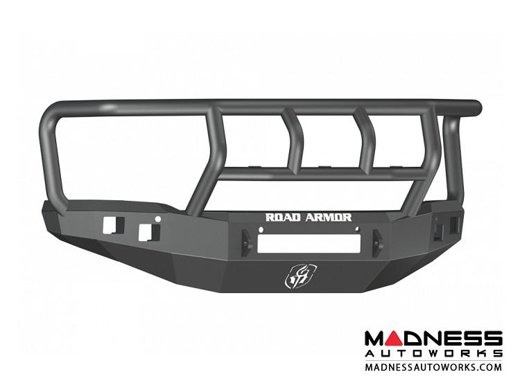 GMC Sierra 1500 Stealth Front Non-Winch Bumper Titan II Guard - Texture Black - (2008-2013)