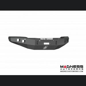 GMC Sierra 1500 Stealth Front Winch Bumper - Smittybilt XRC - Texture Black WARN M12000