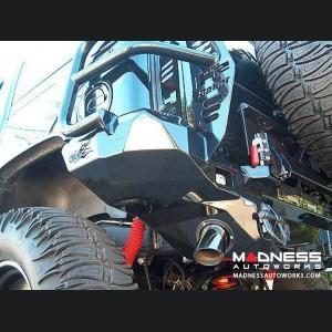 Hummer H2 Dakar Rear Non-Winch Bumper - Texture Black
