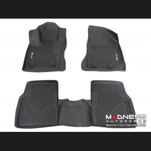 Jeep Compass Floor Liners (set of 3) - Front and Rear - Black by Husky Liners