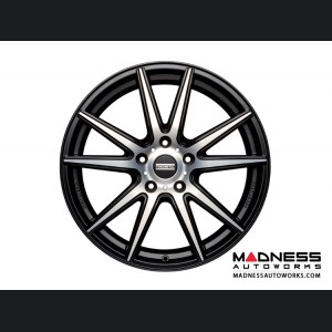 Infiniti G35 Sedan Custom Wheels by Fondmetal - Matte Black Machined