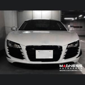 Audi R8 V8 Bumper Trim - Carbon Fiber - Front