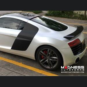 Audi R8 GT V8 V10 Trunk Spoiler - Carbon Fiber - Rear