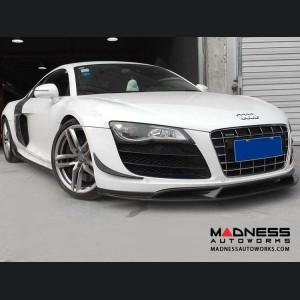 Audi R8 GT V8 V10 Spoiler - Carbon Fiber - Front