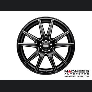 Jaguar XF Custom Wheels by Fondmetal - Black Milled