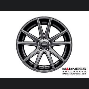 Jaguar XF Custom Wheels by Fondmetal - Gloss Titanium Milled