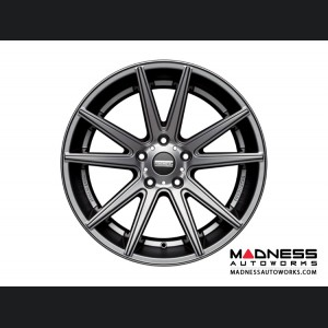 Jaguar XF Custom Wheels by Fondmetal - Matte Titanium
