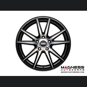 Jaguar XF Custom Wheels by Fondmetal - Matte Black Machined