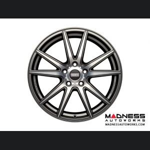 Jaguar XF Custom Wheels by Fondmetal - Matte Titanium Machined