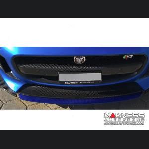 Jaguar F-Type Center Front Lip Splitter - Carbon Fiber