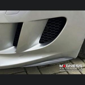Jaguar F-Type Front Bumper Flaps - Carbon Fiber