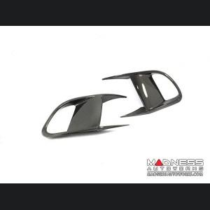 Jaguar F-Type Extended Flap Bumper Intercooler Frame - Carbon Fiber