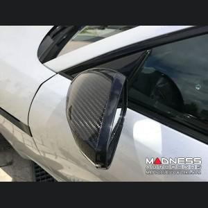 Jaguar F-Type Mirror Covers - Carbon Fiber