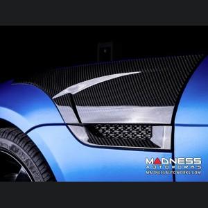 Jaguar F-Type Side Panel Cover - Carbon Fiber