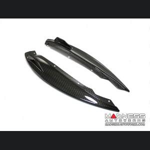Jaguar F-Type Front Splitter Lips - Carbon Fiber