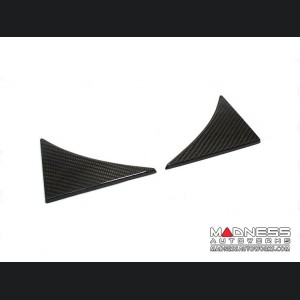 Jaguar F-Type Trunk Triangle Frames - Carbon Fiber