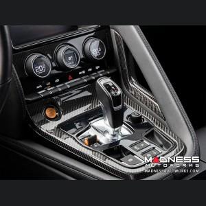 Jaguar F-Type Carbon Fiber Center Console Trim - Carbon Fiber
