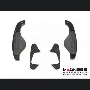 Jaguar F-Type Carbon Fiber Steering Wheel R Paddles - Carbon Fiber