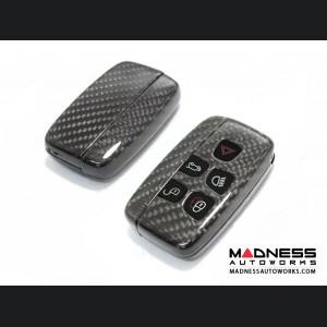 Jaguar F-Type Carbon Fiber Key Cover - Carbon Fiber