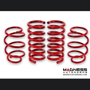 Jeep Compass Lift Springs - Red Powder Coat