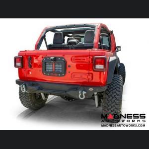 Jeep Wrangler JL Spare Tire Delete Kit w/ Camera Housing