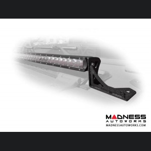 "Jeep Wrangler JL LED Light Bar Mount Over Hood - 30"" - 4 Door"