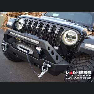 Jeep Wrangler JK Bumper Adapter Bracket - Front - ABJL-01