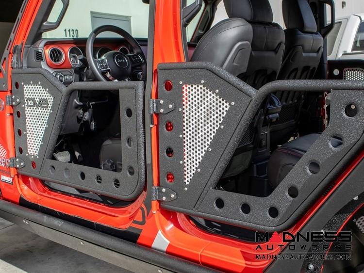 Jeep Wrangler JL Rock Door w/ Perforated Aluminum Mesh - 4 Door