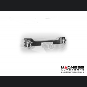 Jeep Wrangler JL Bumper Crossmember w/ Recovery Shackles - Rear - 4 Door