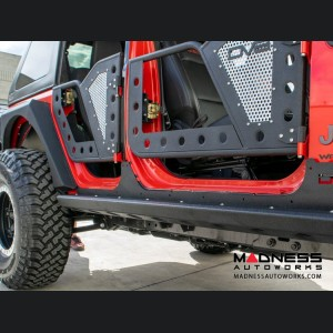 Jeep Wrangler JL Rocker Guards w/ Rock Skins - 4 Door