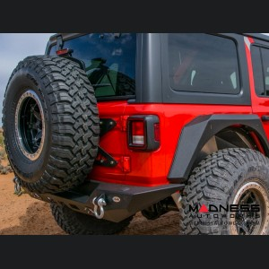 Jeep Wrangler JL Tailgate Mounted Tire Carrier