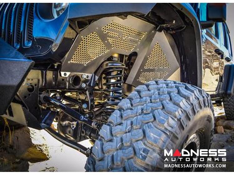 "Jeep Wrangler JL Threaded Hydraulic 2.0 Bump Stops w/ 2.5"" Stroke  - Pair"