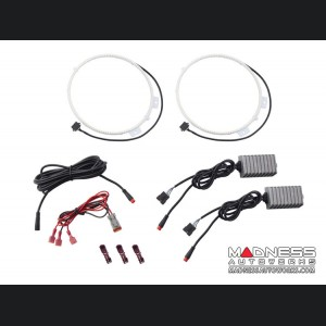 Jeep Gladiator LED Headlight Halo Kit - RGBW
