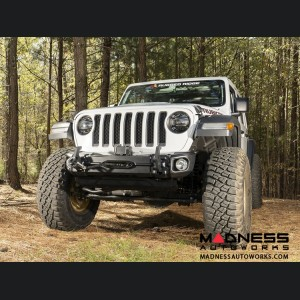 Jeep Wrangler JL Arcus Front Bumper w/Winch Tray & Tow Hooks