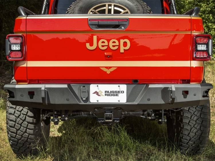 Jeep Gladiator JT Rear Bumber - HD Series